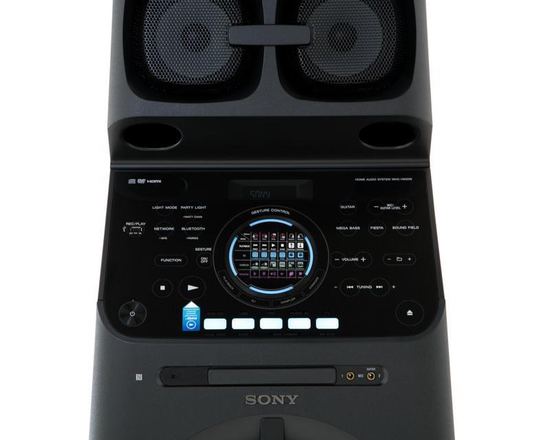 Sony giới thiệu hệ thống âm thanh MHC-V90DW