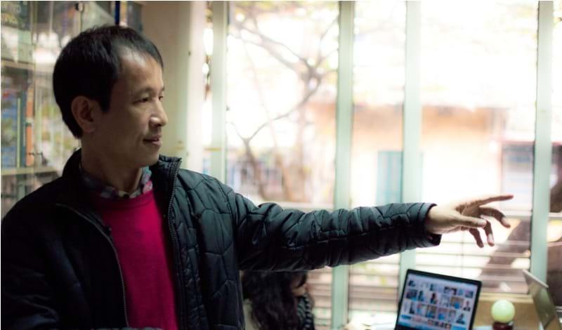 KTS. Hoàng Thúc Hào là người sáng lập Văn phòng Kiến trúc 1+1>2.