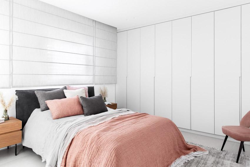 Khám phá căn hộ hiện đại ấm cúng với tông màu xám nhẹ và hồng pastel - 19