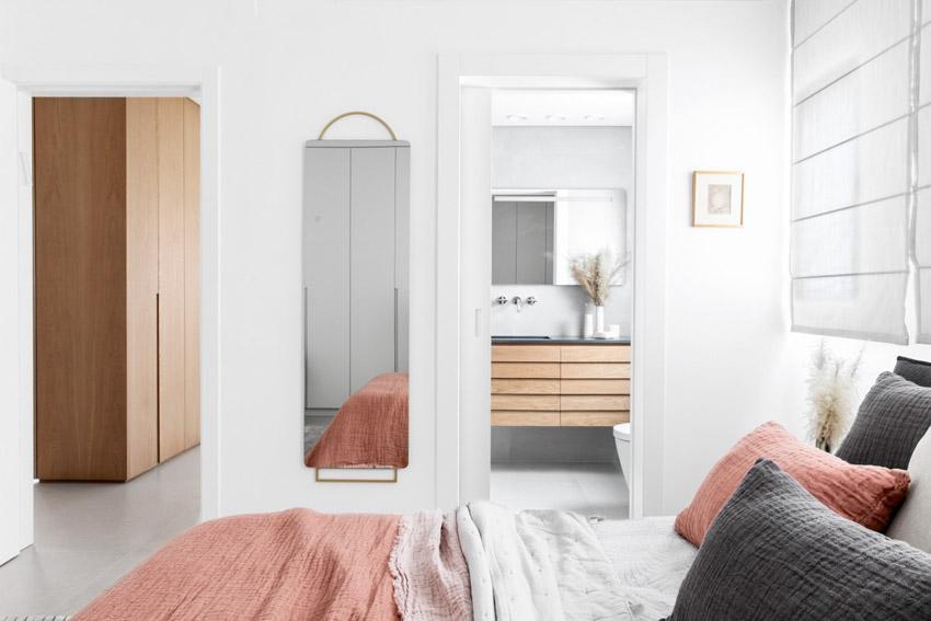 Khám phá căn hộ hiện đại ấm cúng với tông màu xám nhẹ và hồng pastel - 22