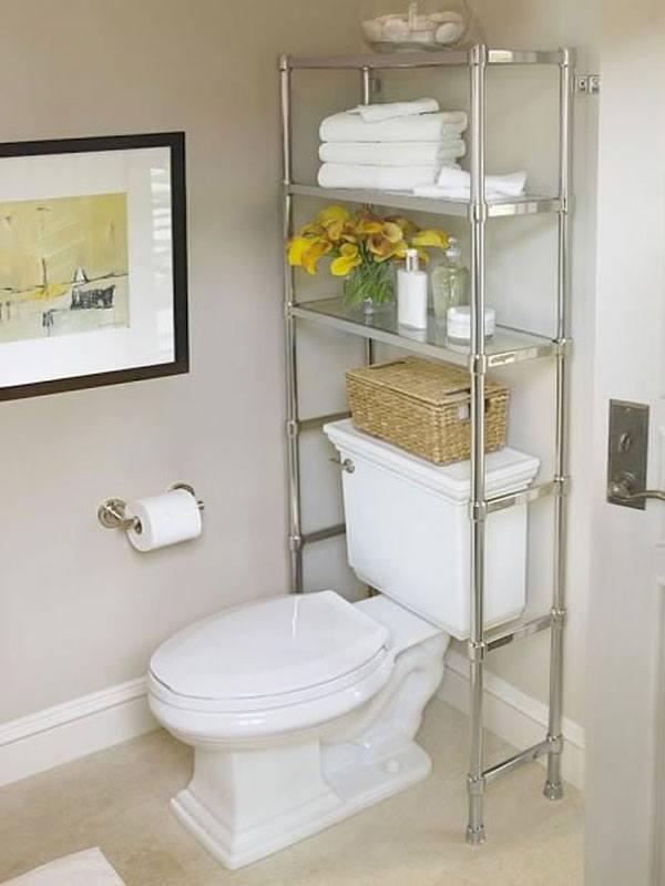 Tiết kiệm không gian lưu trữ trong toilet