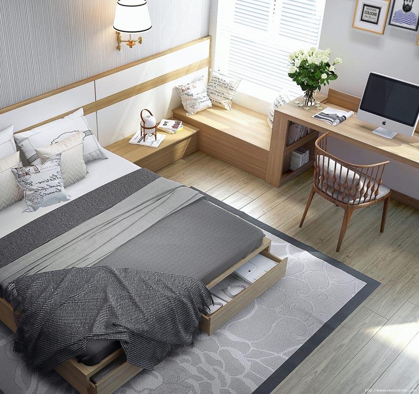 cách trang trí phòng ngủ 9
