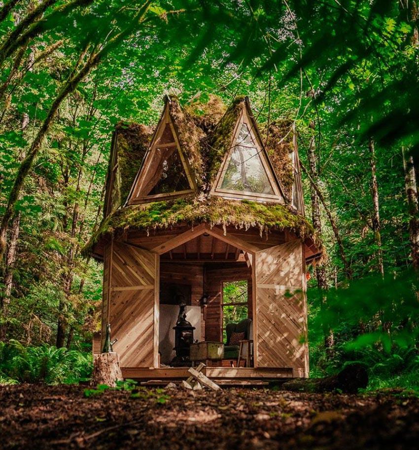 ngôi nhà cabin 1