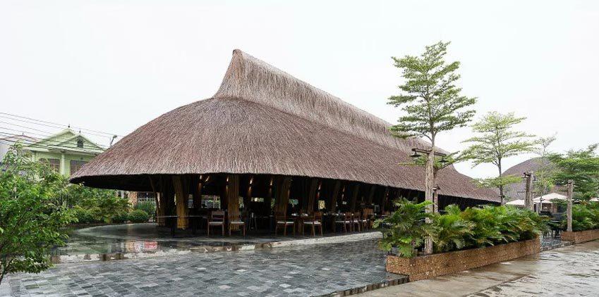Nhà hàng tre tại Quảng Bình 13