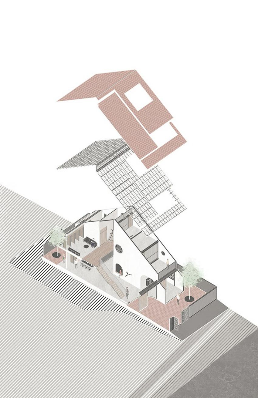 Tile Roof House 11