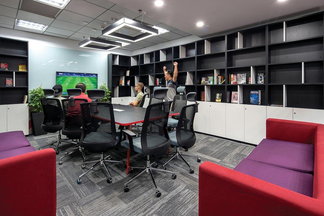 khu vực giải trí của văn phòng Wizeline 2