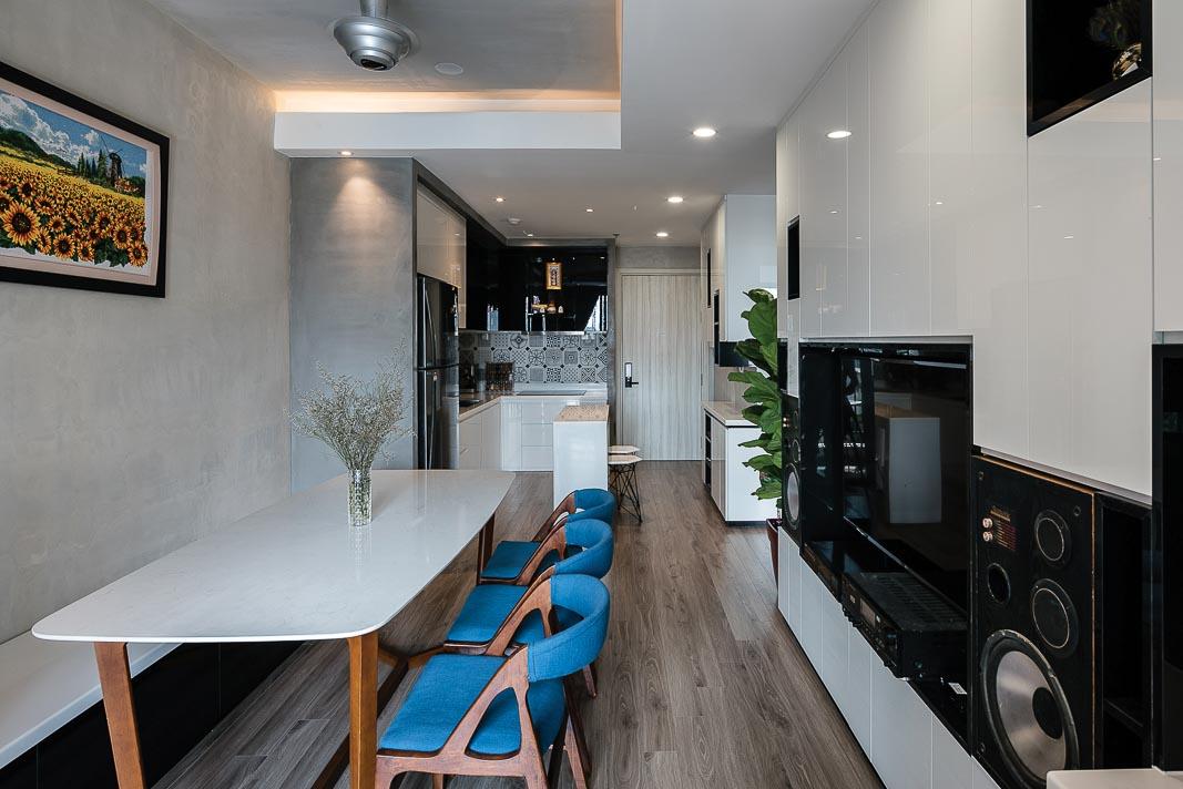 Mở ra không gian và tiện ích cho căn hộ nhỏ 2