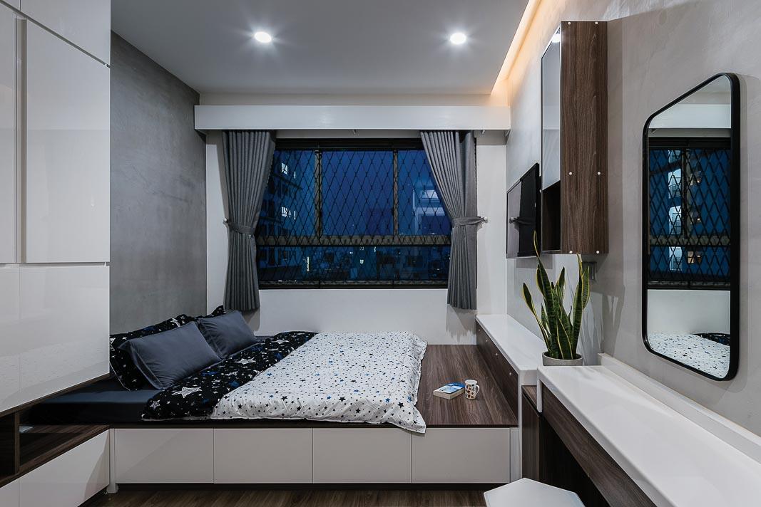 Mở ra không gian và tiện ích cho căn hộ nhỏ 8