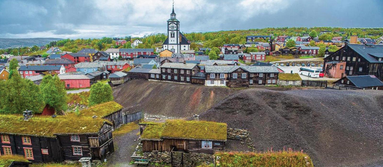 Những phố cổ độc đáo ở đất nước Na Uy