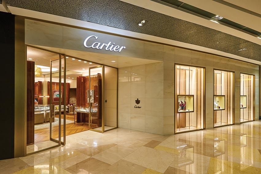 Cửa hàng Cartier tại Singapore 2