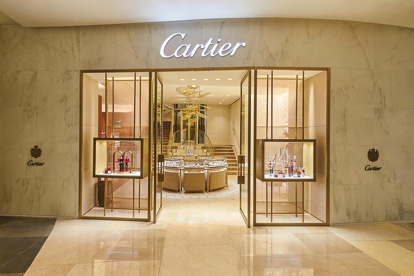 Cửa hàng Cartier tại Singapore 3