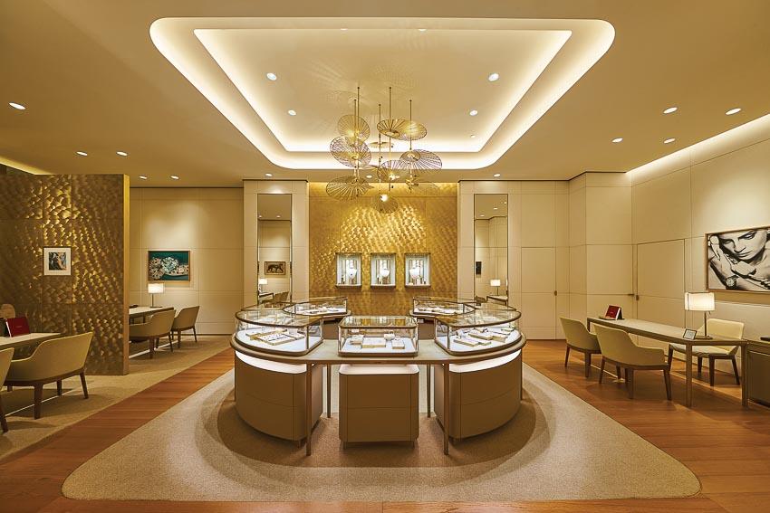 Cửa hàng Cartier tại Singapore 6