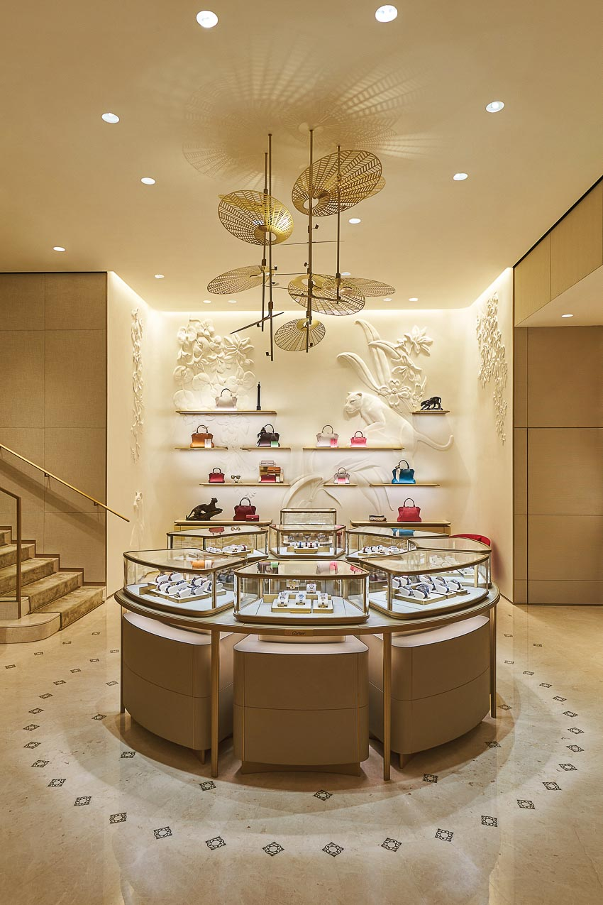 Cửa hàng Cartier tại Singapore 7