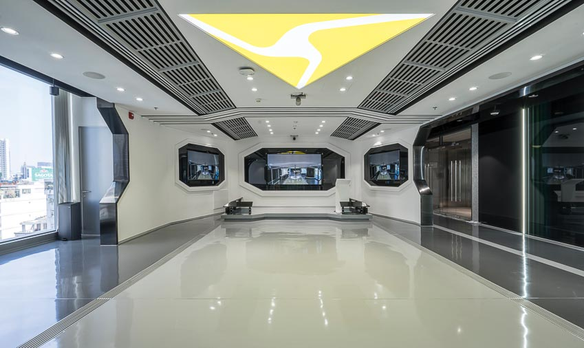 văn phòng AXON 4