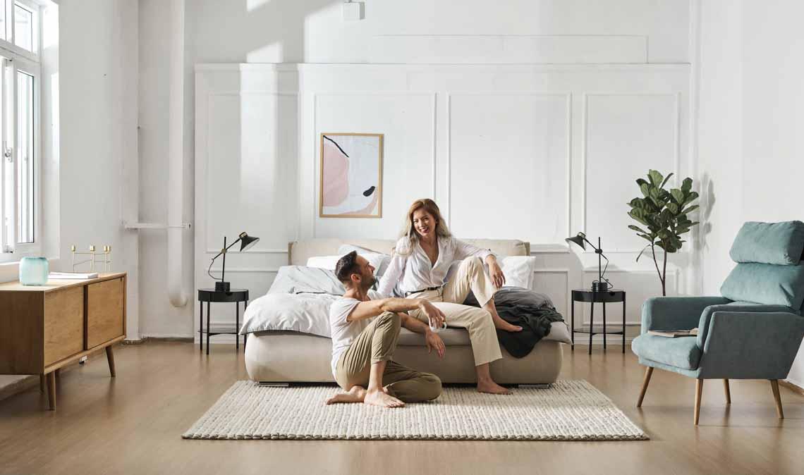 Biến hóa phòng ngủ đẹp tinh tế với cảm hứng nội thất từ Bắc Âu - 1