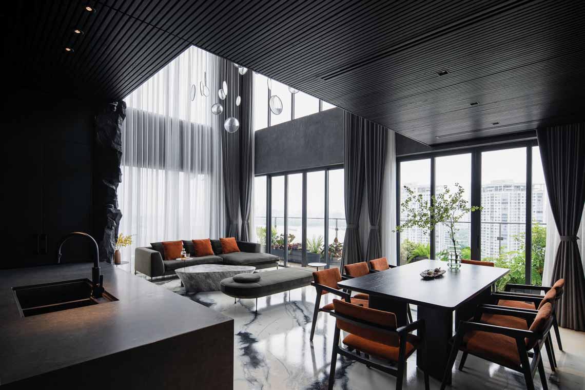 Đưa đường nét thiên nhiên vào không gian nội thất - 4