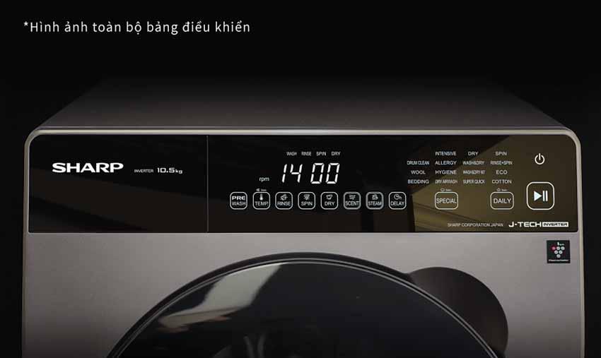 Máy giặt cửa trước Sharp Pro-Flex - Nâng tầm phong cách sống - 5