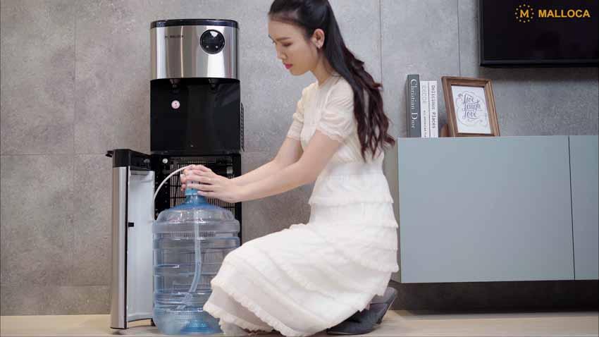 Máy nước nóng lạnh hai vòi Malloca MWD-1834B - 3