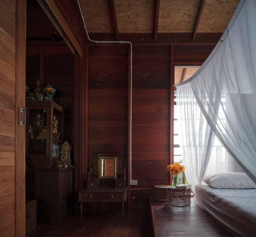 Ngôi nhà sàn gỗ ấm áp nằm giữa vườn dừa xanh mát - 7