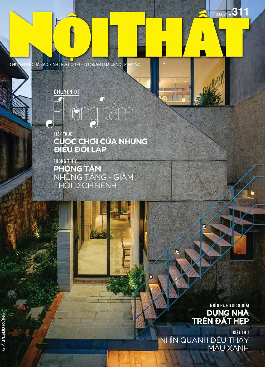 Đón đọc Tạp chí Nội Thất 311 phát hành ngày 01/08 - 1