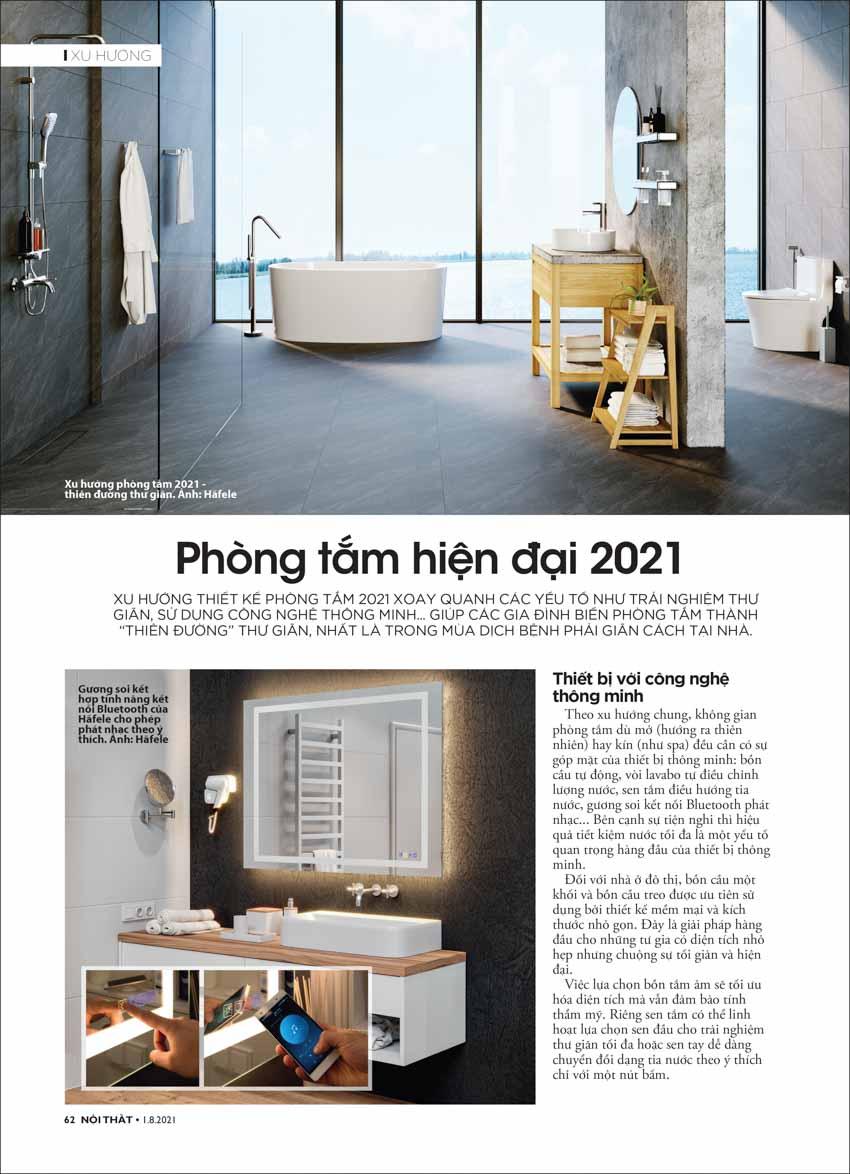 Đón đọc Tạp chí Nội Thất 311 phát hành ngày 01/08 - 8