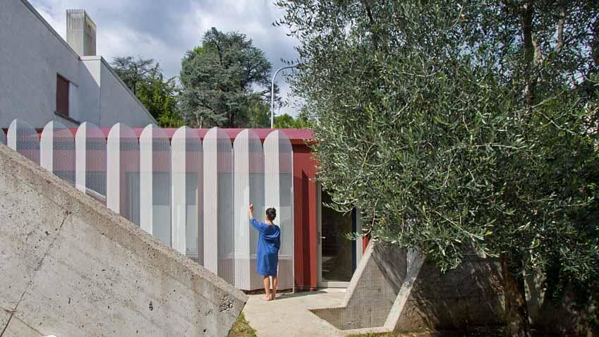 Kiến trúc sư người Ý thiết kế không gian tự cách ly trong nhà - 33