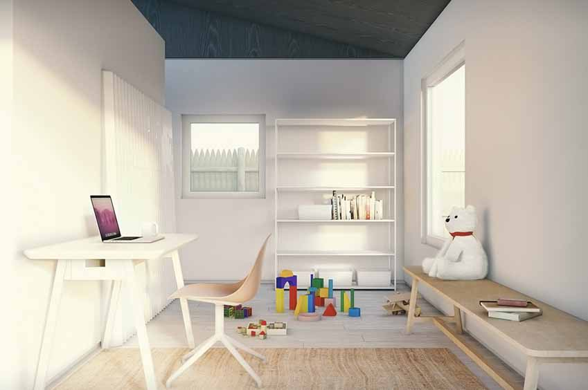 Nội thất cho ngôi nhà nhỏ trong mơ - 18