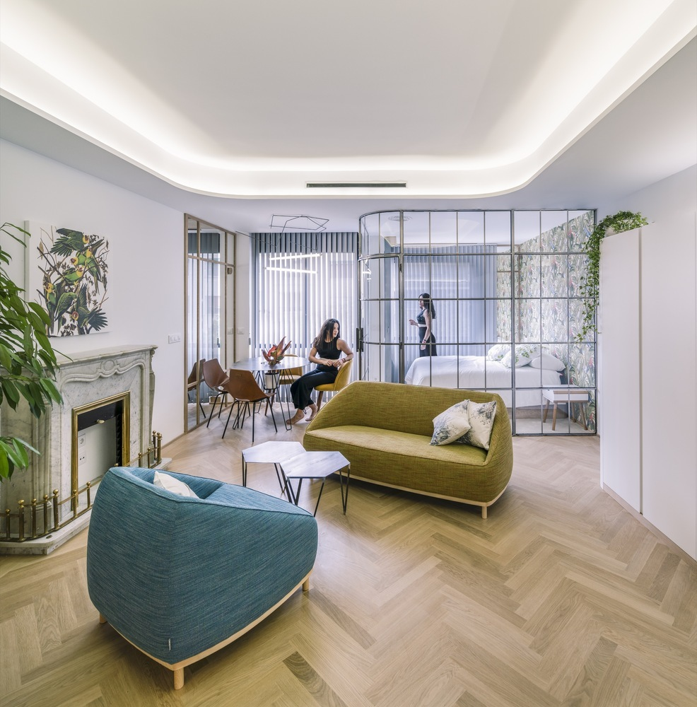 Three Apartments in Madrid / Fast and Furious Production Office