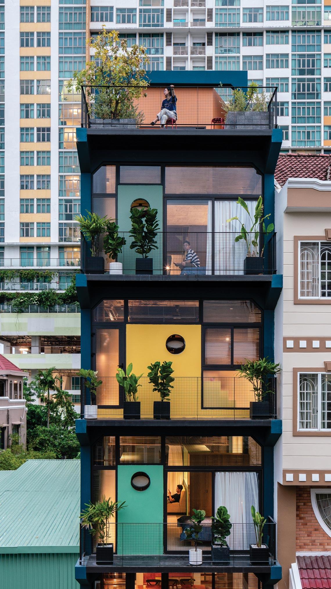 HH apartments - Những 'kén ở' trong đô thị -1