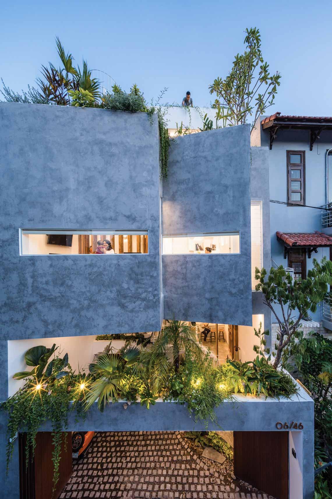 Jalousie house: Ngôi nhà của những nếp gấp -1