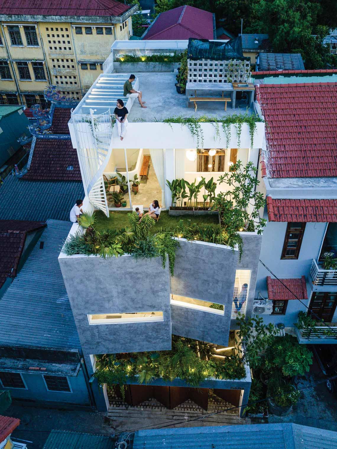 Jalousie house: Ngôi nhà của những nếp gấp -2