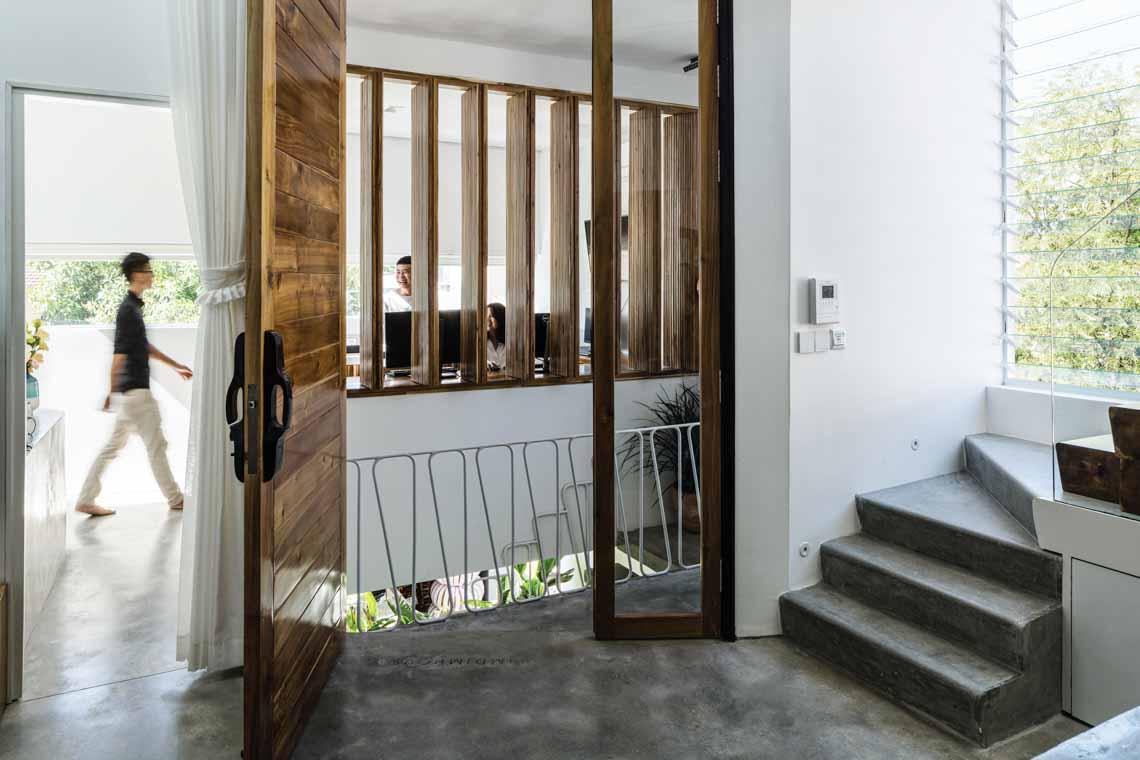 Jalousie house: Ngôi nhà của những nếp gấp -12