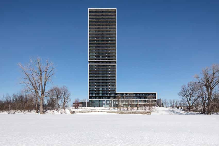 Panorama - Tòa tháp hưu trí cao cấp bên bờ sông -1