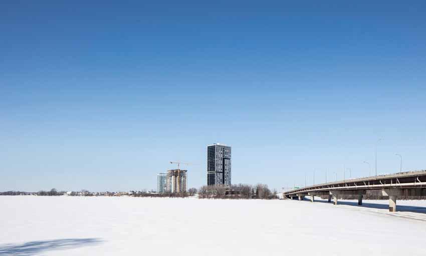 Panorama - Tòa tháp hưu trí cao cấp bên bờ sông -21