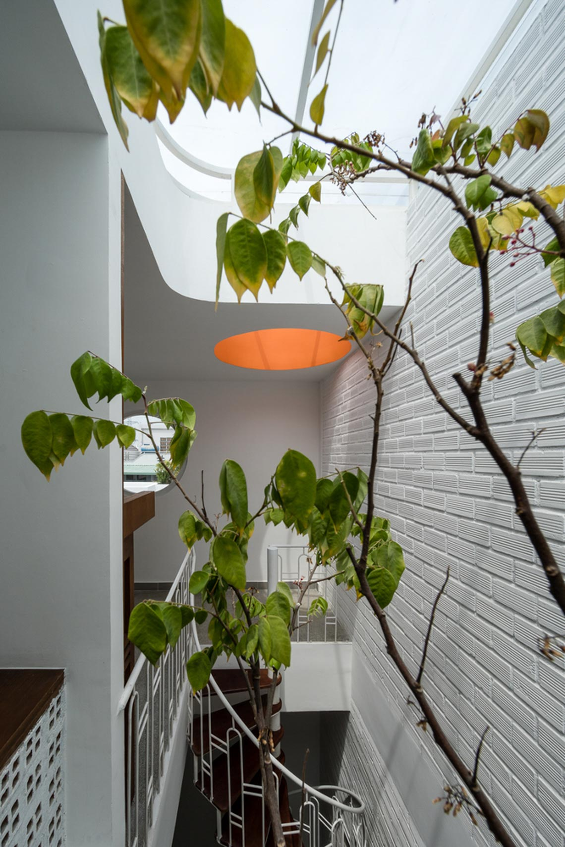 V House – ngôi nhà tràn ngập ánh sáng với những mảng xanh -18