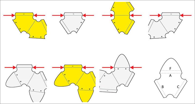 Ambigupt - tác phẩm nghệ thuật được tạo nên từ hàng trăm miếng nhôm hình cánh cung-2