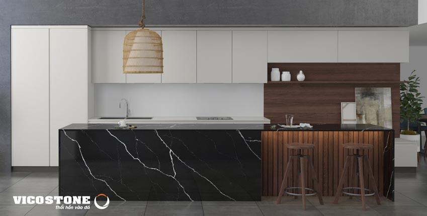 """Đá nhân tạo gốc thạch anh - bí quyết tạo nên không gian bếp """"vạn người mê""""-3new"""