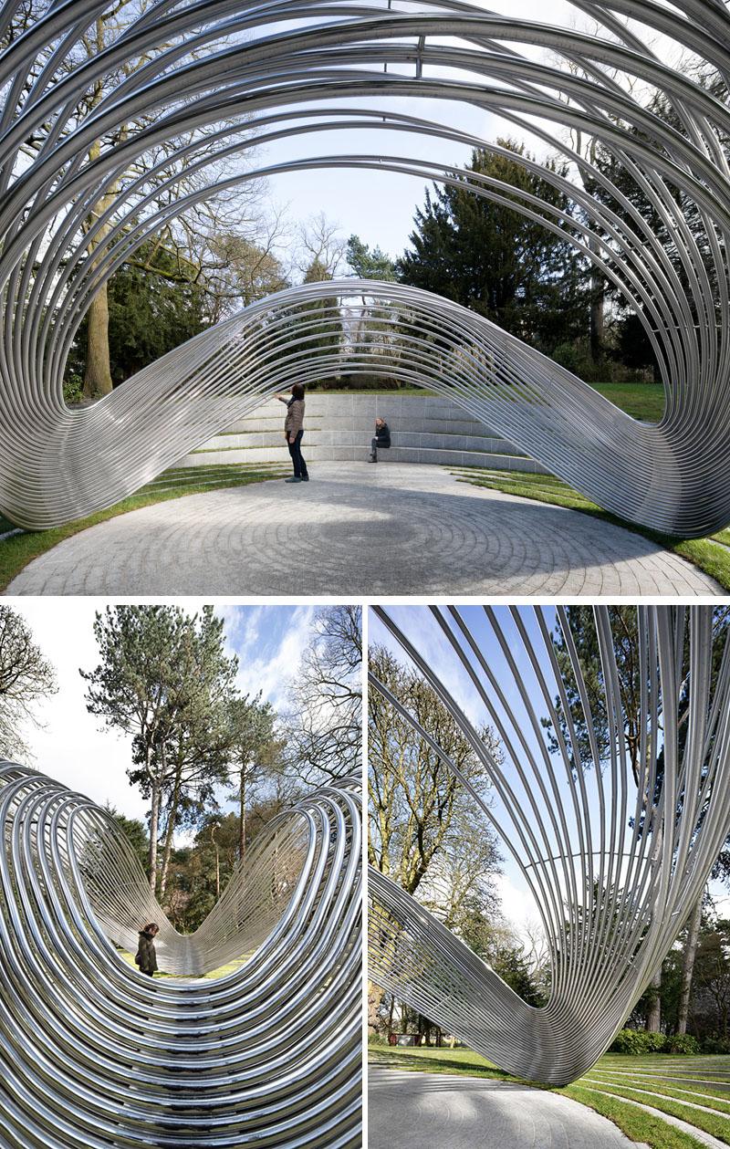 Đài tưởng niệm Sousse and Bardo ở công viên Cannon Hill của Birmingham-3