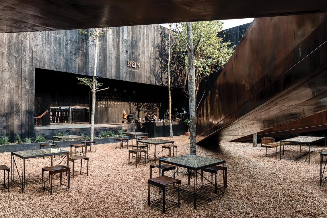 Nhà hàng Yam - Kể chuyện bằng kiến trúc-12