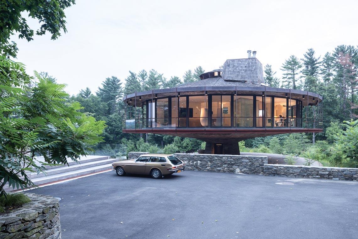 """Ngôi nhà """"xoay tròn"""" ở Connecticut-1"""