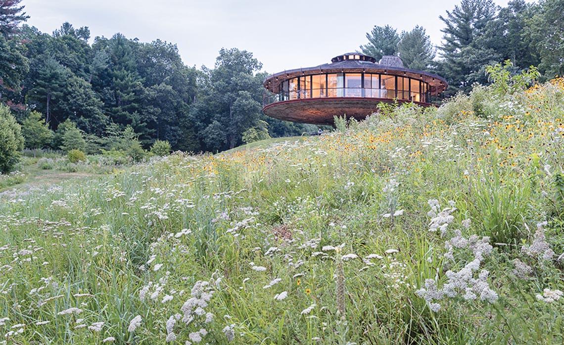 """Ngôi nhà """"xoay tròn"""" ở Connecticut-16"""