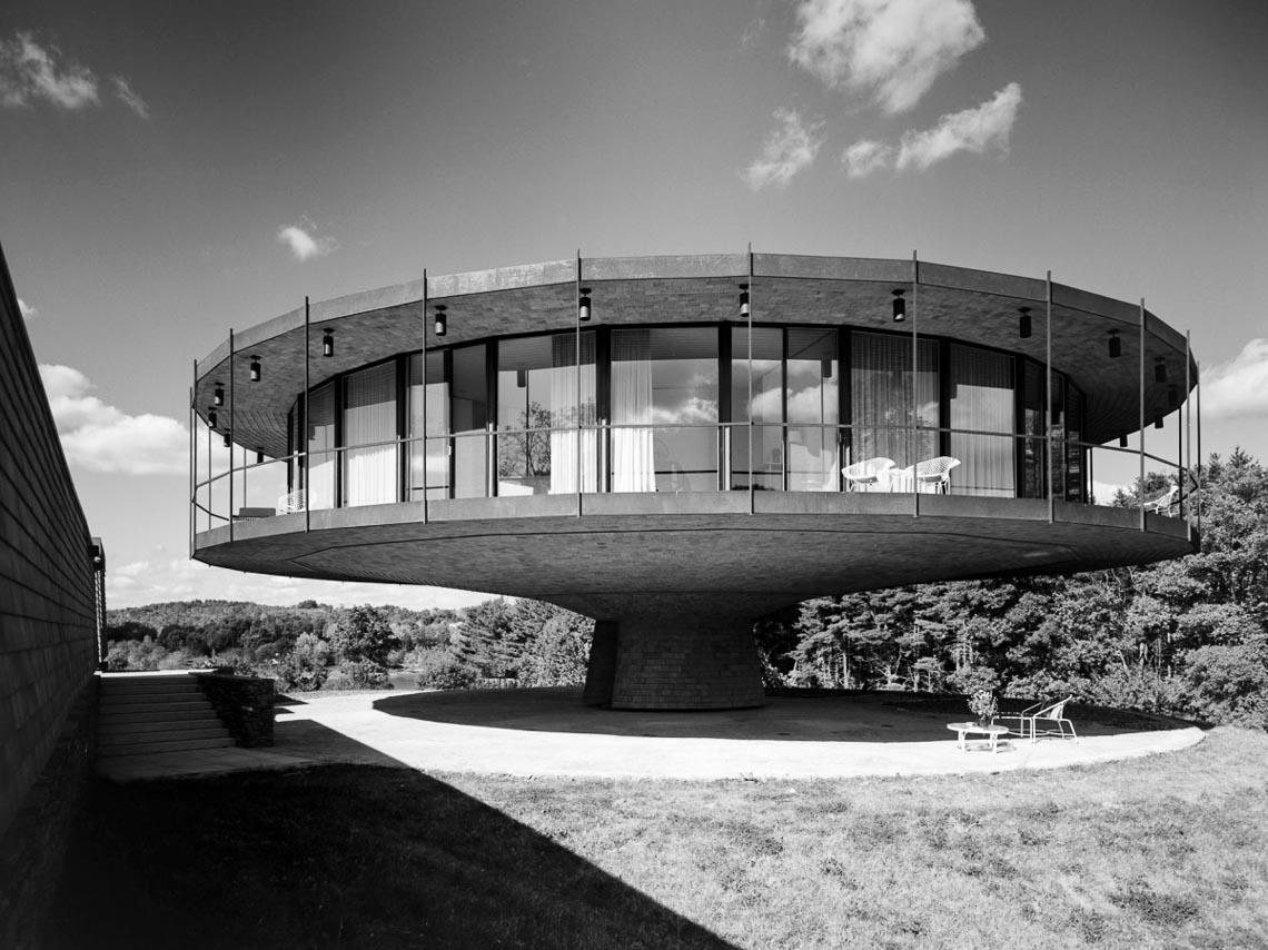 """Ngôi nhà """"xoay tròn"""" ở Connecticut-4"""