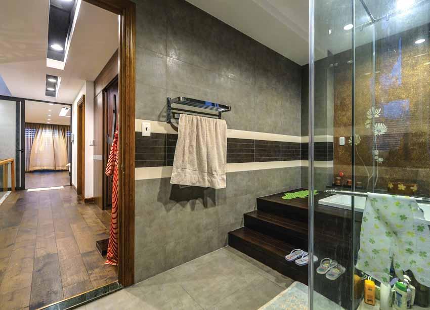 Phòng tắm hiện đại không ngại khoe -5