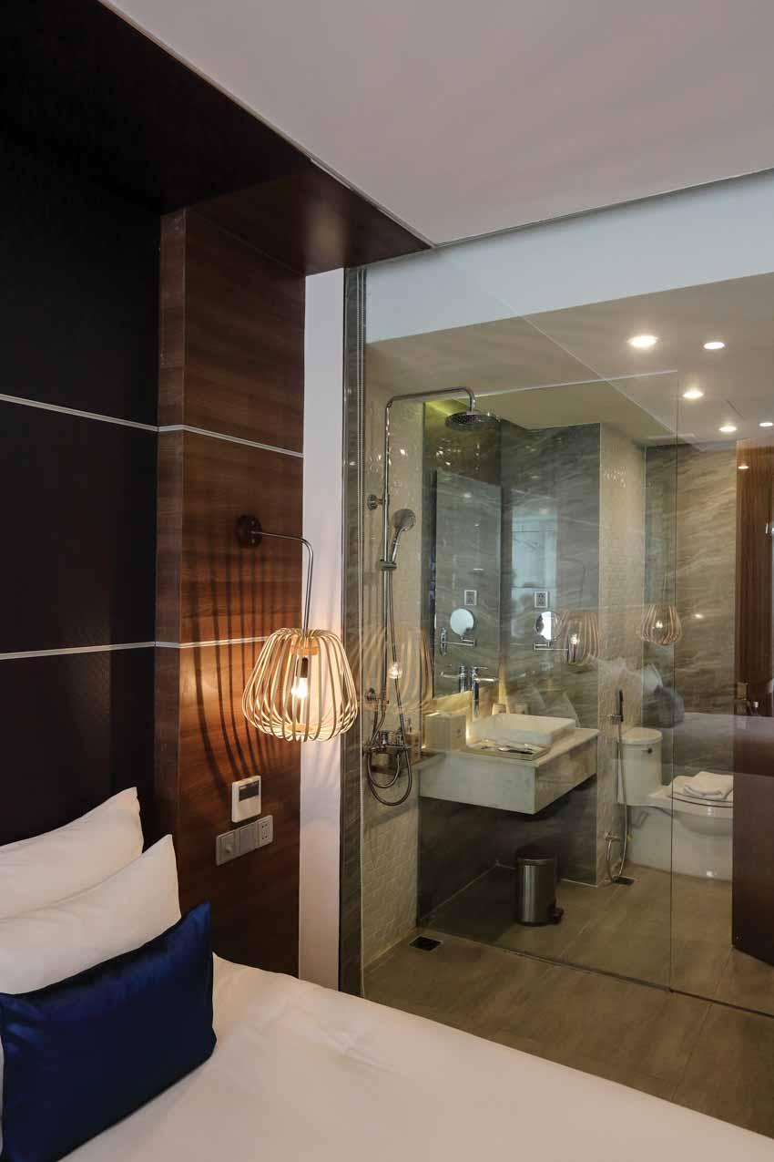 Phòng tắm hiện đại không ngại khoe -7