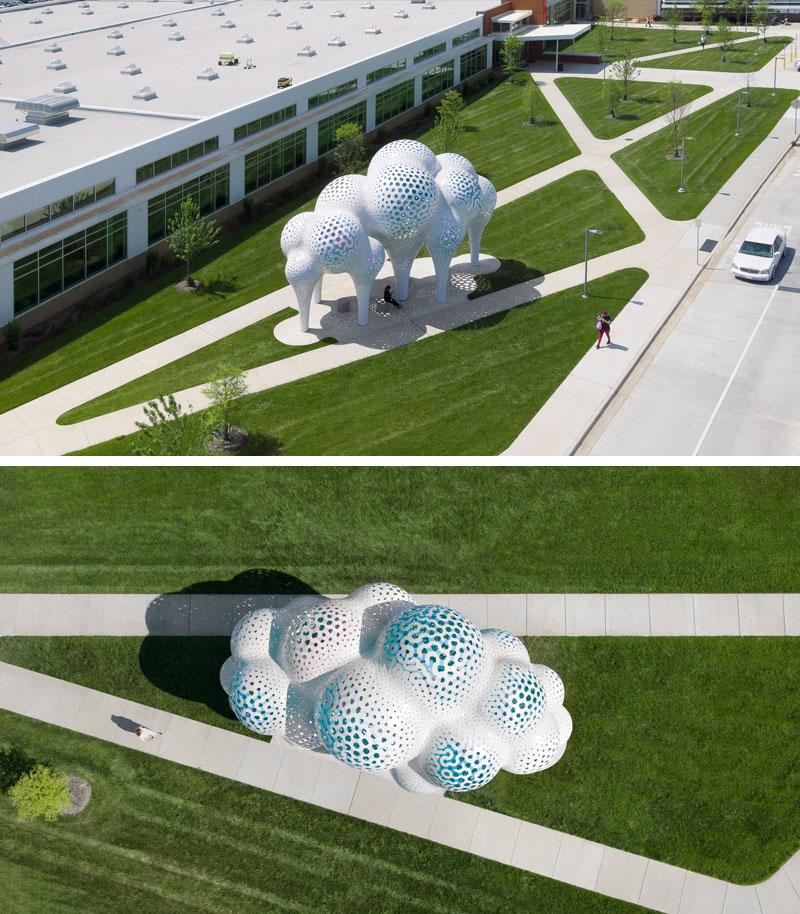 Pillars of Dreams - tác phẩm điêu khắc từ 3.564 mảnh ghép-2