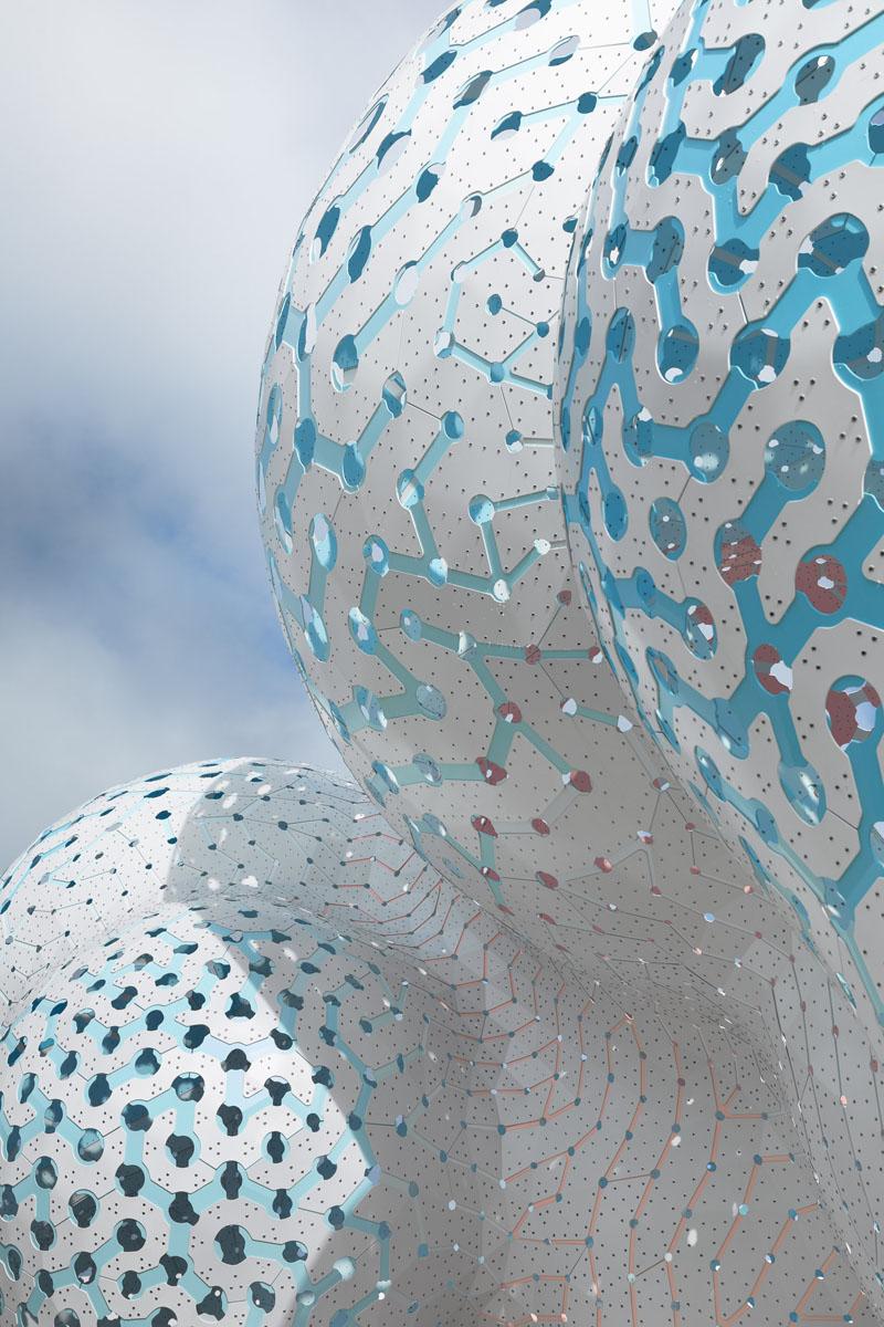 Pillars of Dreams - tác phẩm điêu khắc từ 3.564 mảnh ghép-4