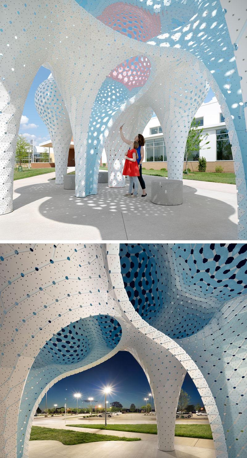 Pillars of Dreams - tác phẩm điêu khắc từ 3.564 mảnh ghép-5