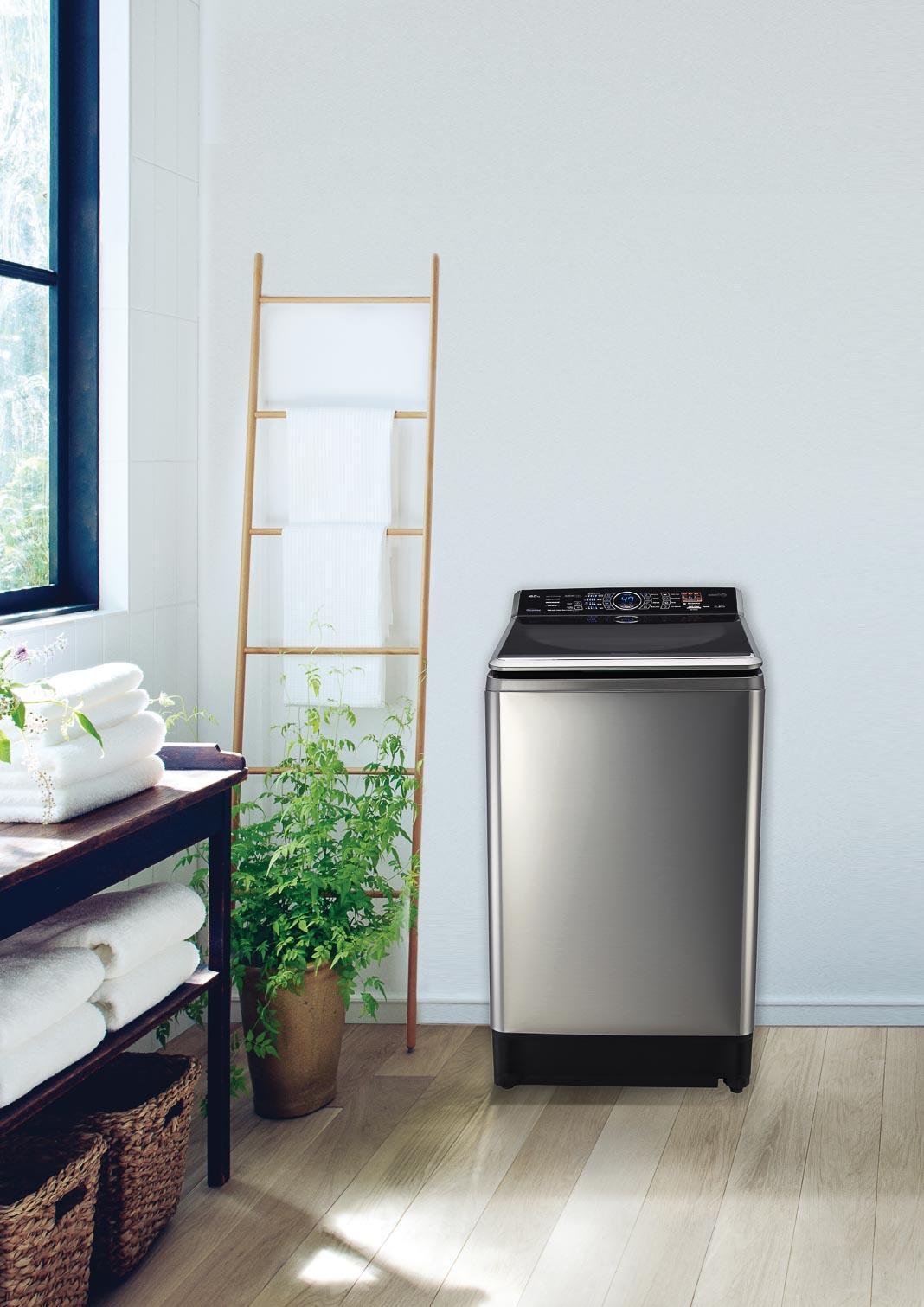 Máy giặt nước nóng Panasonic Inverter series 7 1