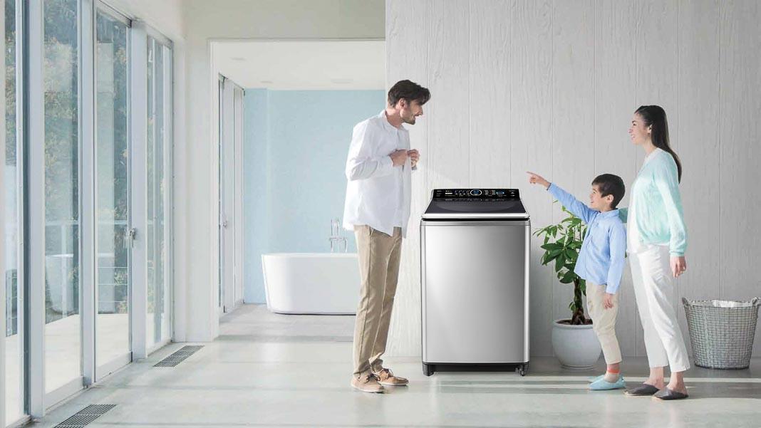 Máy giặt nước nóng Panasonic Inverter series 7 2