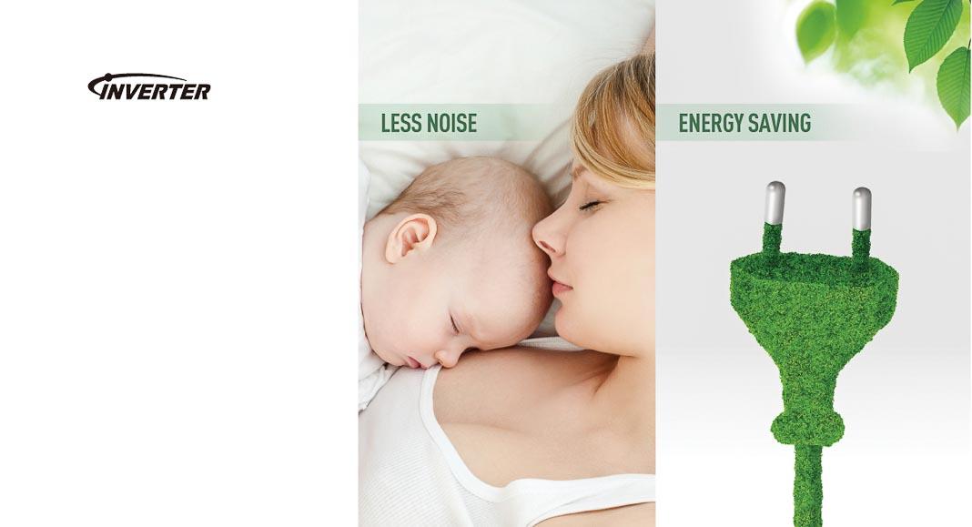 Tiết kiệm điện tới 22% cùng bộ đôi Inverter và Econavi
